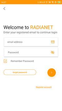 Radianet screenshot 1