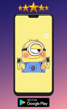 Minions Cute Wallpaper HD screenshot 2