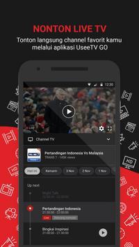 UseeTV GO -  Nonton TV & Streaming Film screenshot 1