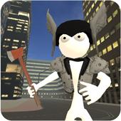Real Stickman Crime icon
