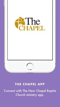 NCBC The Chapel App poster