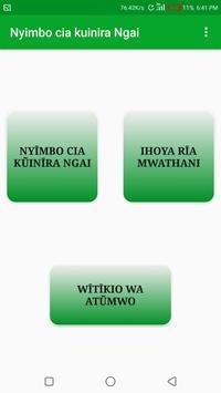 Nyimbo Cia Kuinira Ngai poster