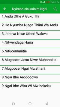 Nyimbo Cia Kuinira Ngai screenshot 1