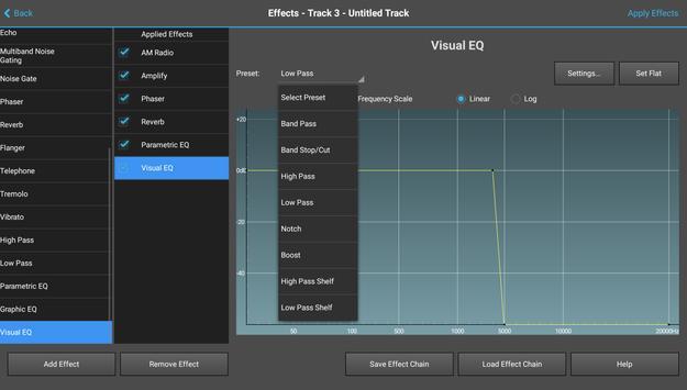MixPad Multitrack Mixer Free 截圖 6