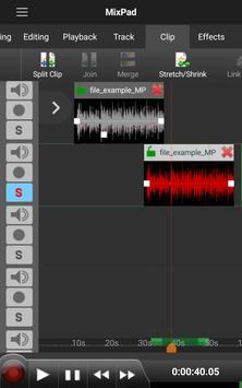 MixPad Multitrack Mixer Free 截圖 1