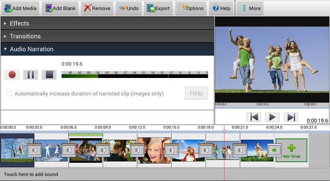 PhotoStage Slideshow Free screenshot 5