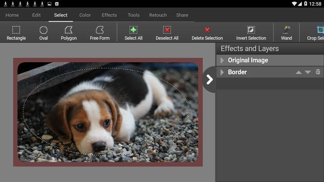 PhotoPad Photo Editor Free تصوير الشاشة 10