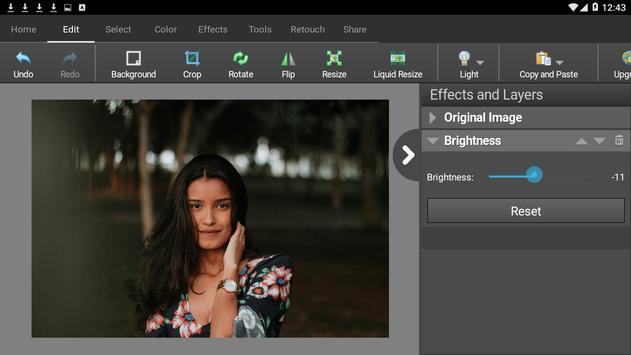 PhotoPad Photo Editor Free تصوير الشاشة 1