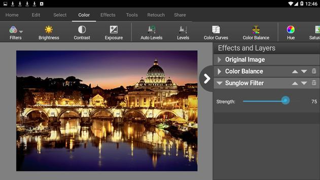 PhotoPad Photo Editor Free تصوير الشاشة 2