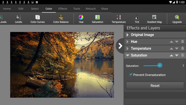 PhotoPad Photo Editor Free تصوير الشاشة 5