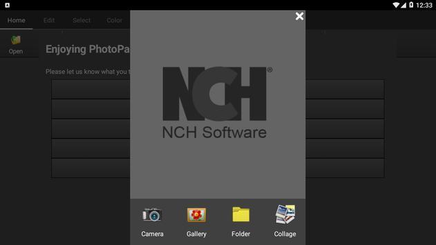 PhotoPad Photo Editor Free تصوير الشاشة 6