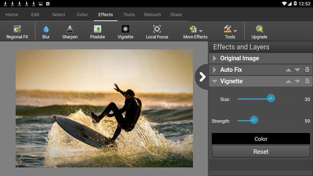 PhotoPad Photo Editor Free تصوير الشاشة 9