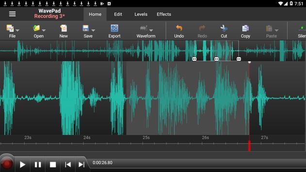 WavePad Audio Editor Free 海報