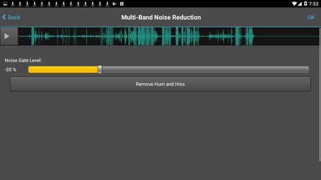 WavePad Audio Editor Free 截圖 1
