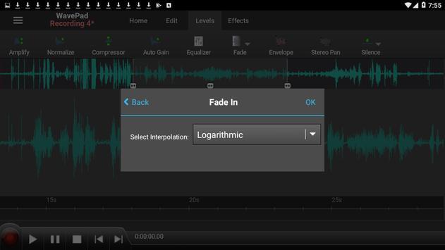 WavePad Audio Editor Free 截圖 2