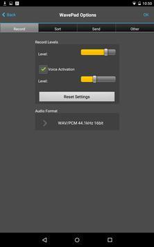 WavePad Audio Editor Free 截圖 14