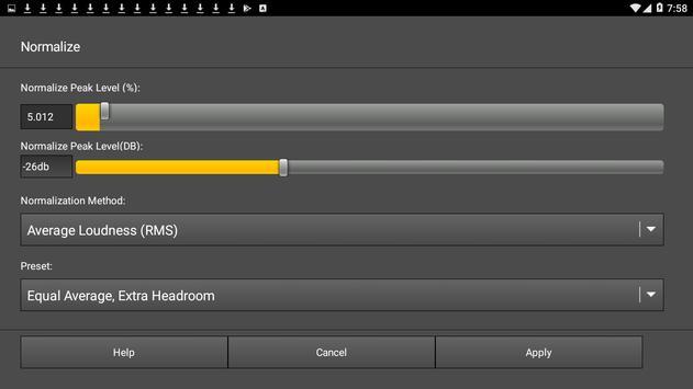 WavePad Audio Editor Free 截圖 5