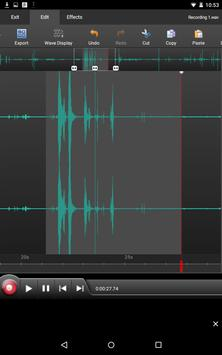 WavePad Audio Editor Free 截圖 13