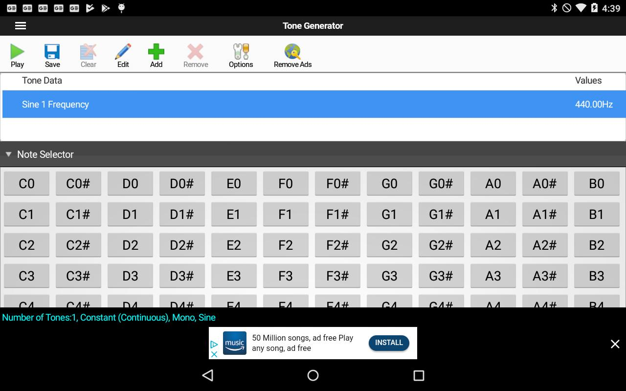 ToneGen Tone Generator Free for Android - APK Download