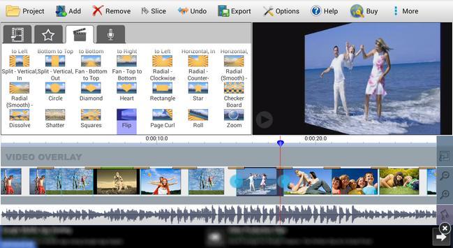 VideoPad Video Editor Free 截圖 2