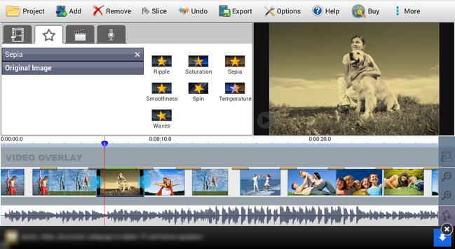 VideoPad Video Editor Free 截圖 5