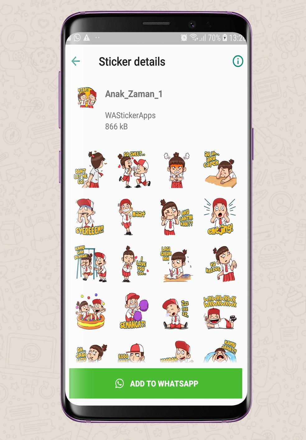 Koleksi Sticker Mantab Betul Wastickerapps For Android