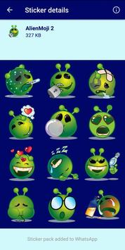 3 Schermata HD Emoji Stickers - WAStickerApps