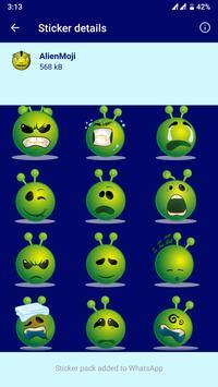 HD Emoji Stickers - WAStickerApps स्क्रीनशॉट 5