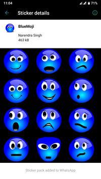 HD Emoji Stickers - WAStickerApps скриншот 9
