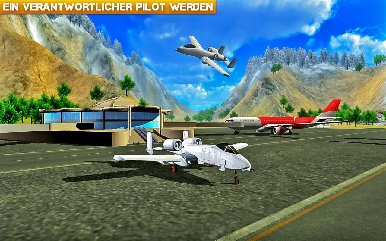 Flugzeugspiele Simulator