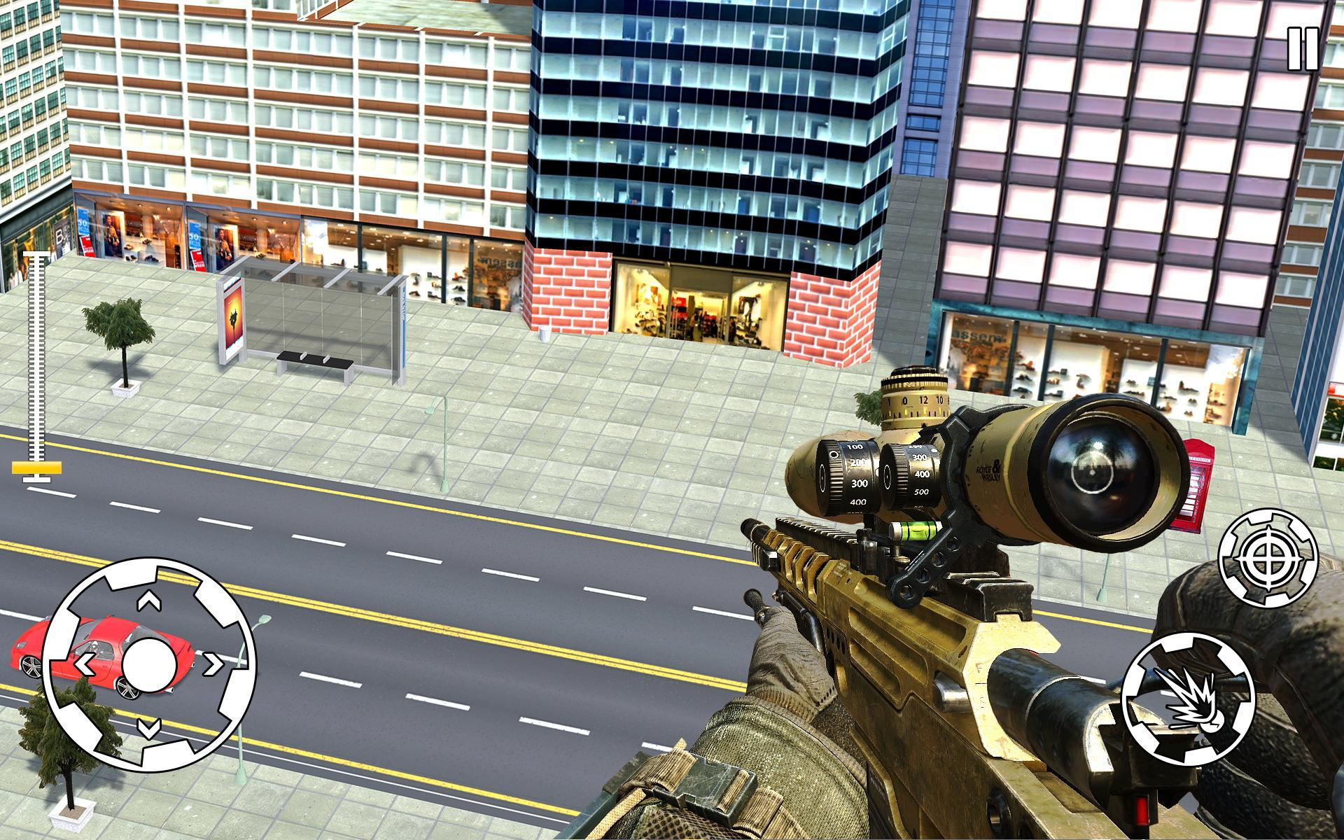 City Highway Sniper Shooter 3D: Shooting Games for Android