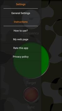 MFM3 pinpointer (metal detector) screenshot 1