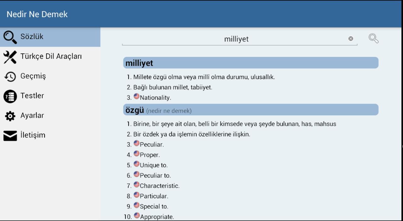 Nedir Ne Demek (Türkçe Sözlük) for Android - APK Download