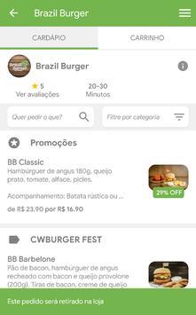 Brazil Burger screenshot 3