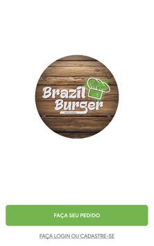 Brazil Burger poster