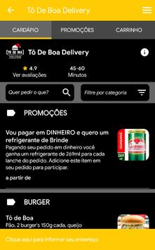 Tô de Boa Delivery screenshot 3