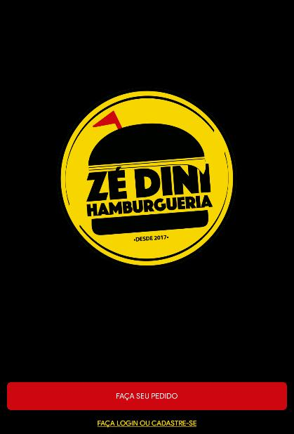 Zé Dini Hamburgueria poster