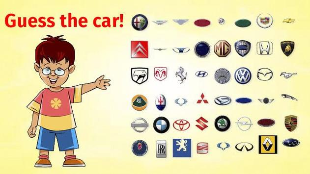 Logo quiz: Guess the car poster