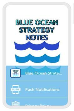 Blue Ocean Strategy Notes poster