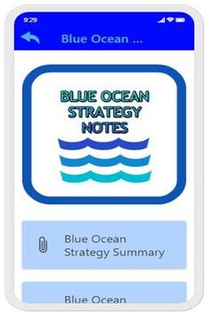 Blue Ocean Strategy Notes screenshot 1