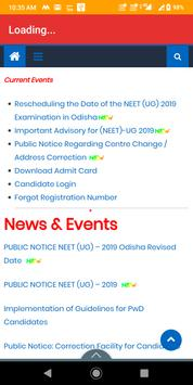 1 Schermata BSEB/NEET Result and counselling (notice) 2019