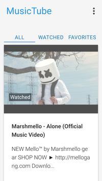 MusicTube - Free Music from Youtube screenshot 3