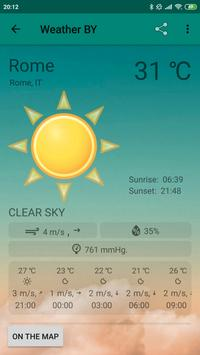 Weather BY screenshot 3