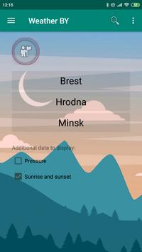 Weather BY screenshot 1
