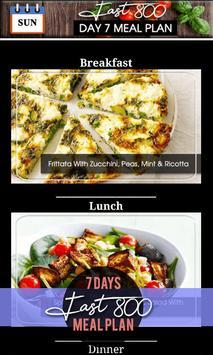 Fast 800 Diet - 7 Days Intermittent Fast Meal Plan screenshot 2