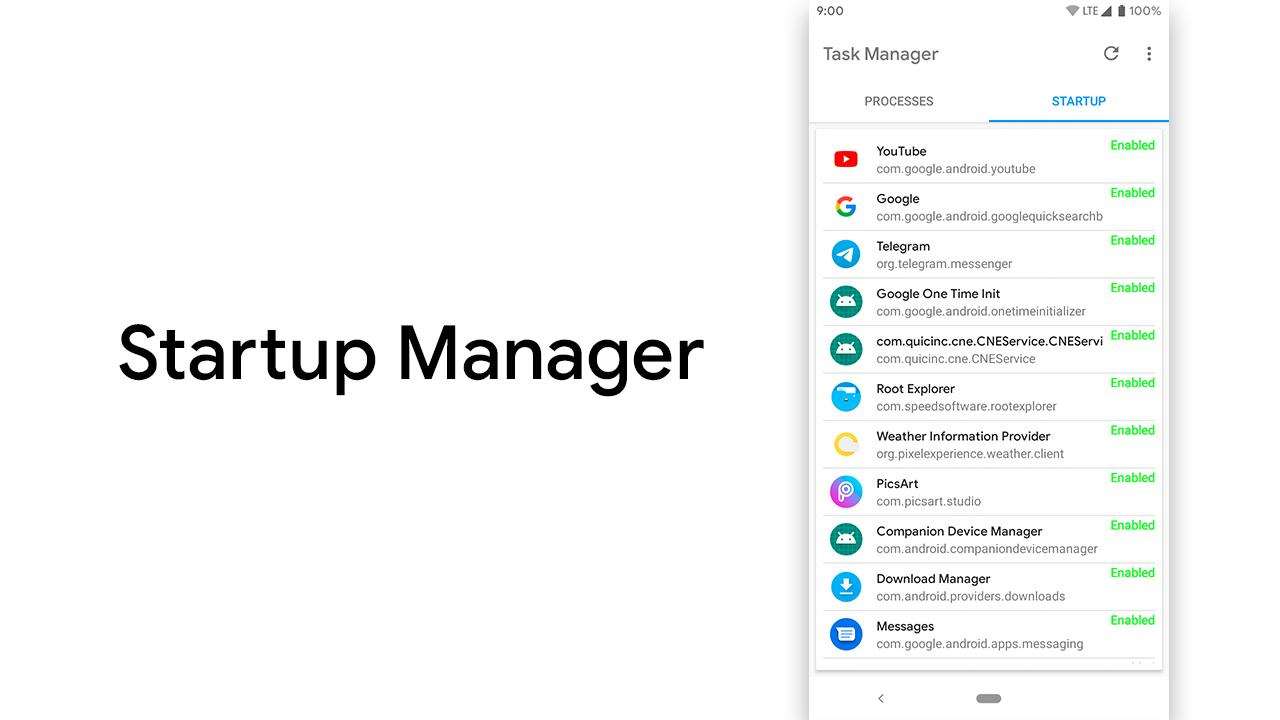 Task Manager - Process & Startup Manager for Android - APK
