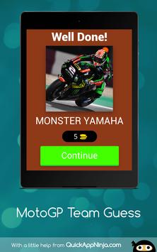 MotoGP Team Guess screenshot 8