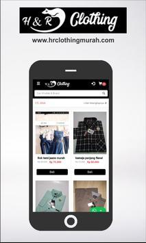 HR Clothing screenshot 1