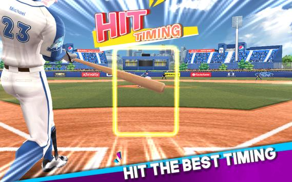Baseball Clash: Real-time game imagem de tela 7