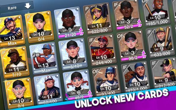 Baseball Clash: Real-time game imagem de tela 9